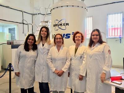 Parte da equipe do projeto (a partir da esq.): Aline Letieri, Tatiana Fidalgo,  Ana Paula Valente, Ivete Pomarico e Liana Bastos (Fotos: Divulgação)