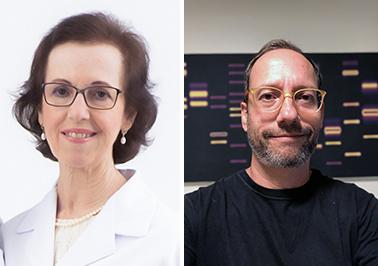 Leila Chimelli e Stevens Rehen