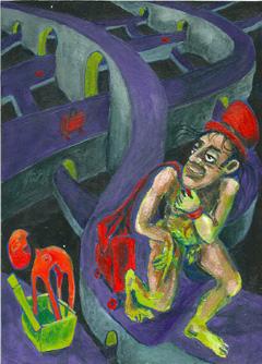 Pintura de Edson Beleza