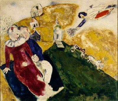 Chagall a la campagne