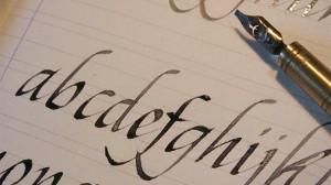 calligrafia pennino